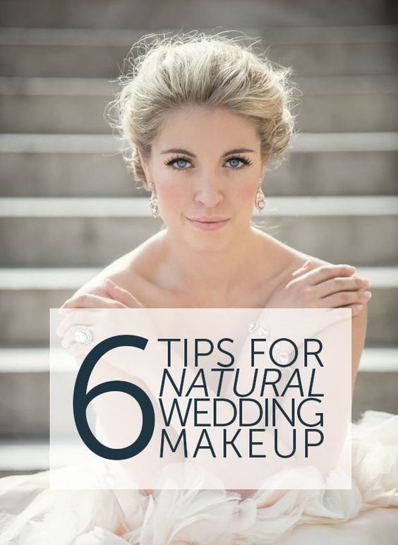 Best Makeup For Wedding Day Photos : Fresh-Faced and Natural - Pinterests Best Bridal Makeup ...