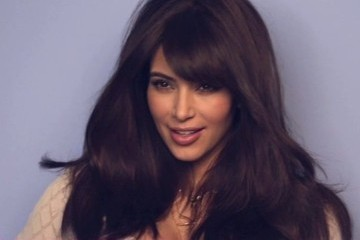 Here's What Kim Kardashian Looks Like During a Photo Shoot [VIDEO]