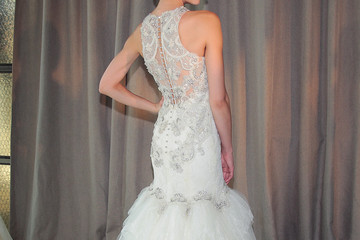 Dramatic Backs Are the Top Trend at Bridal Fashion Week