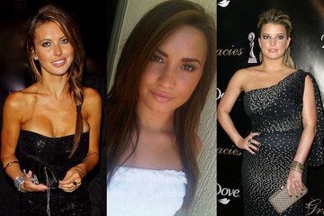 Celebrity Tweet Style: Audrina Plays Pin-up, Demi Wears White and Jessica Pimps Her Platforms