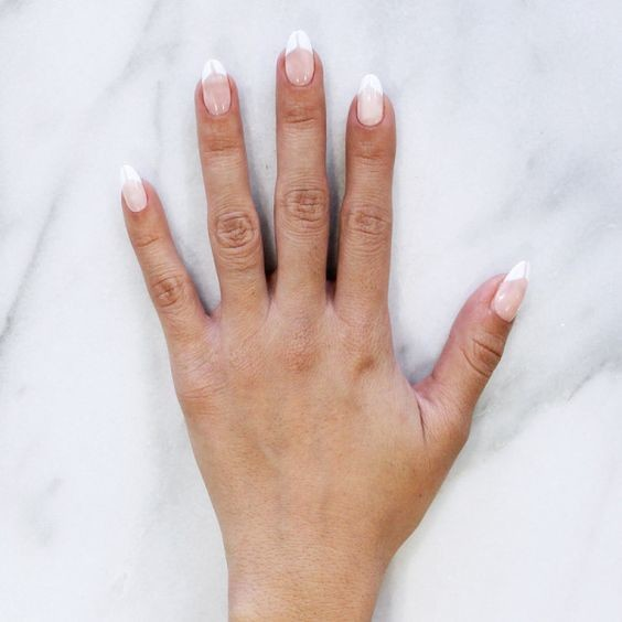 Capricorn: Split French Tips