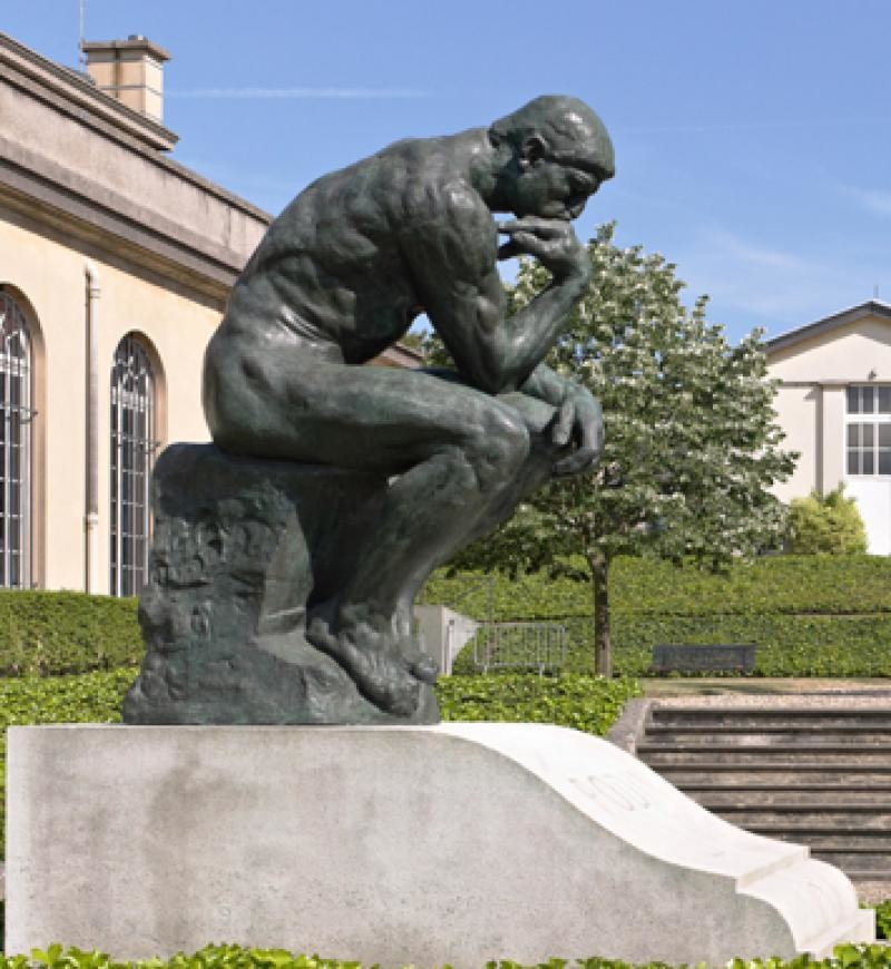 France: The Thinker (Auguste Rodin) - Iconic Artwork Worth ...