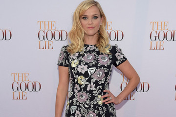 Reese Witherspoon's Floral Minidress