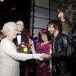 Queen Elizabeth, Russell Brand, And James Blunt