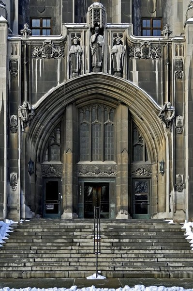 Masonic Temple in Detroit, Michigan