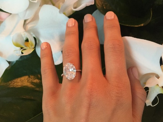 Julianne Houghu0027s Engagement Ring Is Giving Kim Kardashian A Run For Her  Money