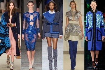 Fashion Trend Report: Royal Blue on the Runway