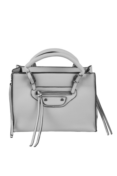 Tobi Kailyn Grey Leather Tote