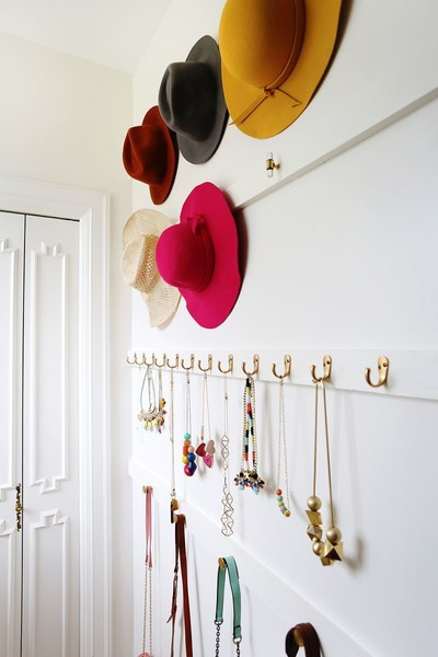 Closet Organization Tip #6: Hang Accessories
