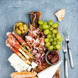 Opt For A Proper Charcuterie Board When You're Too Lazy To Make Dinner