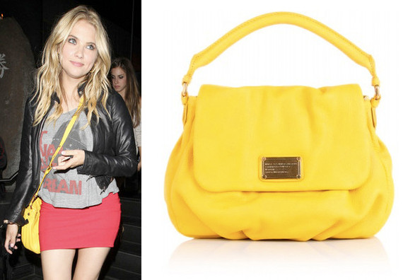 d00849e3d0a4 Neon Nights  Ashley Benson Carries Marc by Marc Jacobs - Accessory ...