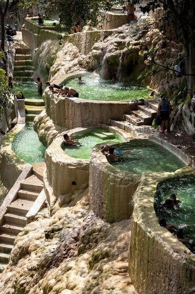 Grutas de Tolantongo Hot Springs in Hidalgo, Mexico