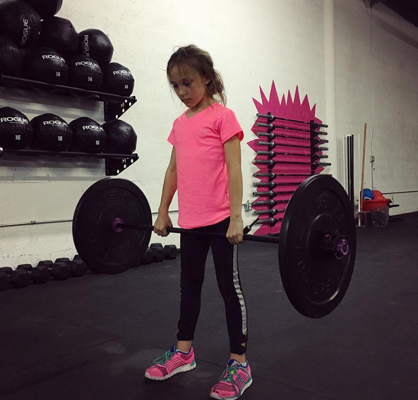 We Should All Strive to Be as Strong as This 9-Year-Old