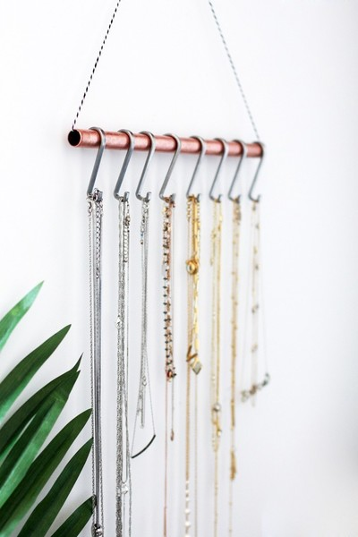 Organization Tip #20: Hang Your Necklaces