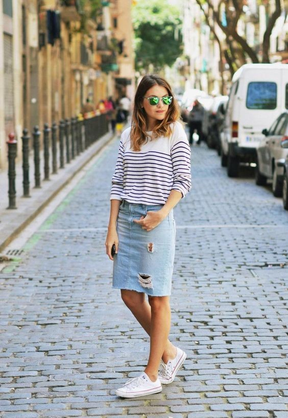 10 Fun Ways To Wear Sneakers This Spring