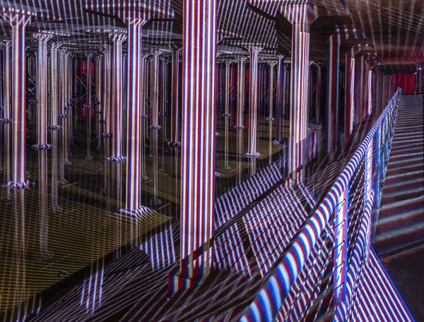 Spatial Chromointerference At The Cistern, Houston