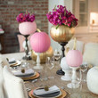 Painted Pumpkin Tablescape