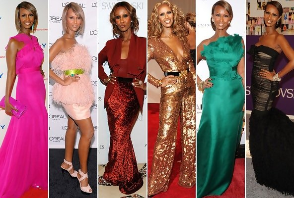 Iman's Best Red Carpet Moments
