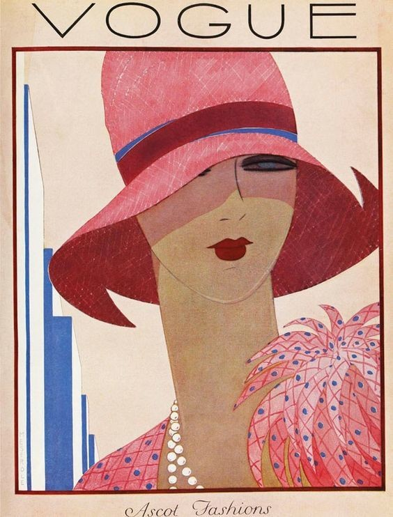 May 1927 You Ll Love These Illustrated Vintage Vogue