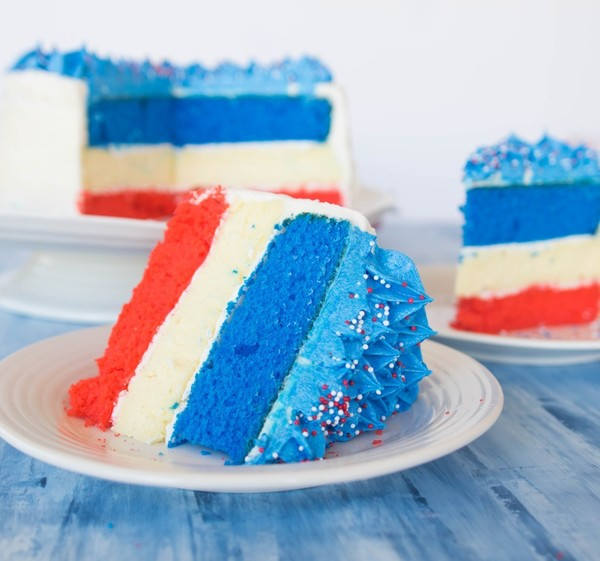 Fourth of July Cheesecake