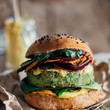 Green Veggie Burger
