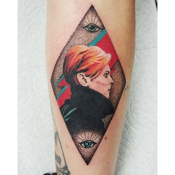 Moonage daydream incredible and touching david bowie for Bowie tattoo ideas