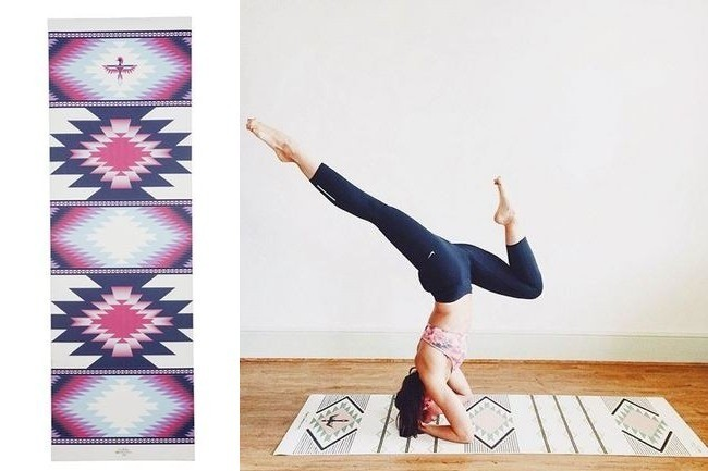 Chic Yoga Mats That Double as Rugs