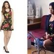 Gina Rodriguez's Tropical Floral Print Dress on 'Jane the Virgin'