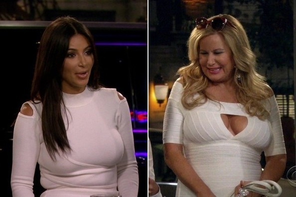 Kim Kardashian (and Jennifer Coolidge) on '2 Broke Girls'