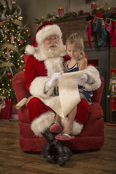 Take your kids to meet a convincing Santa