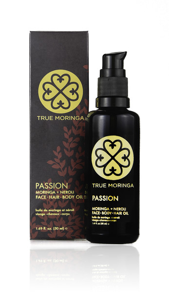 True Moringa Face Hair Body Oil