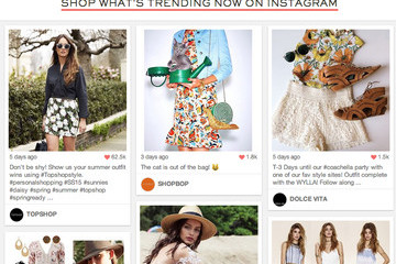 This Site Turns Brand Instagram Photos Into a Virtual Mall