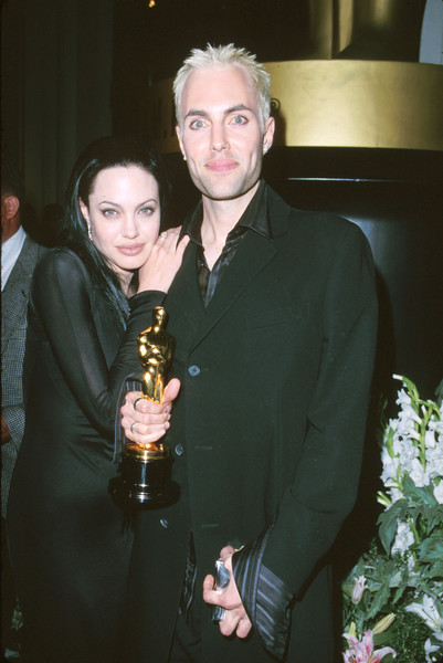 Angelina Jolie And Her Brother