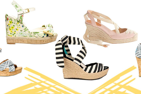 Ten Pairs of Summer Wedges