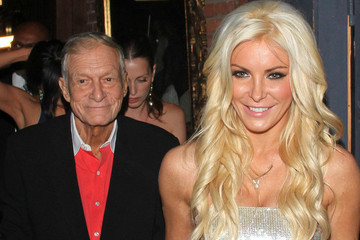 Crystal Harris Married Hugh Hefner Wearing a Dress By This Designer
