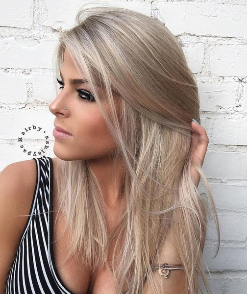 20 Adorable Ash Blonde Hairstyles To Try Hair Color Ideas: 20 Beautiful Winter Hair Color Ideas