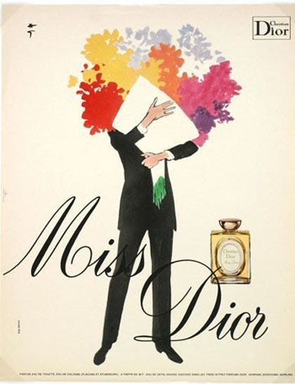 A Bouquet for Miss Dior