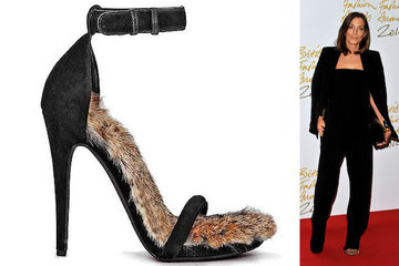 Celine's Phoebe Philo Wins Designer of the Year in Rabbit Fur Sandals