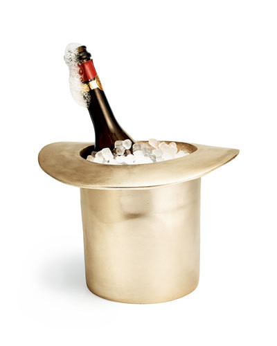 A Conversation-Starting Champagne Cooler
