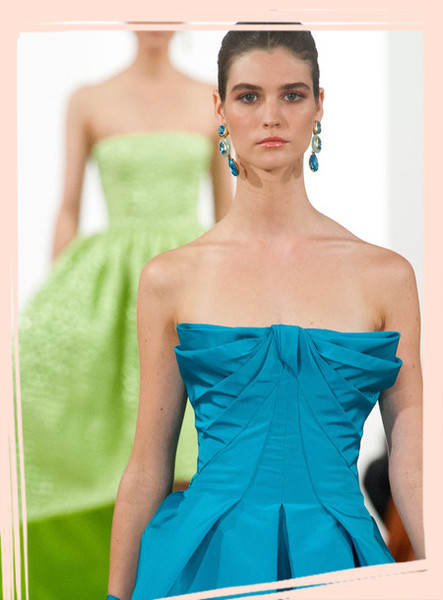 The Most Memorable Oscar de la Renta Runway Dresses