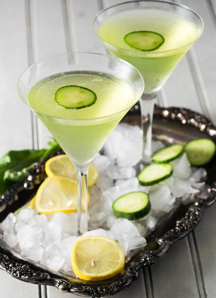 Lemon Cucumber Martini