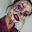 Tattoo Clown Makeup