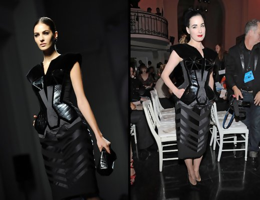 Get the Look: Dita Von Teese Clothing