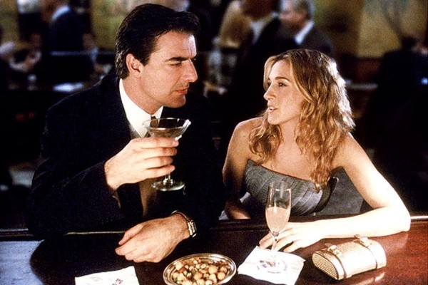 Carrie and Mr. Big from 'Sex and the City'