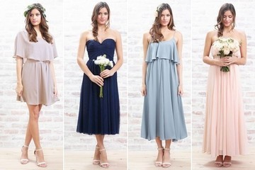 Lauren Conrad Introduces Bridesmaid Dresses to Paper Crown