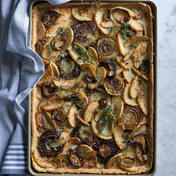 Savory Apple Tart