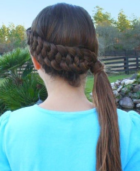 Slide-Up Dutch 4-Strand Braid.