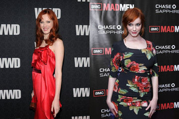Karen Elson Takes Hair Color Cues from Christina Hendricks