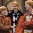 "Fred, George, And Ron Weasley In ""Gryffindior"" Spring/Summer 2016"