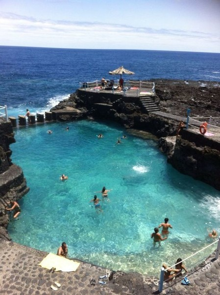 Let nature provide your swimming sweet spot in the Canary Islands
